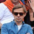 Martin Solveig à Roland-Garros à Paris, le 3 juin 2014.