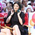 Kylie Jenner sur le plateau de l'émission Good Morning America. New York, le 3 juin 2014.