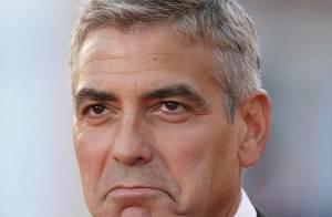 PHOTOS : George Clooney et Brad Pitt, concours de grimaces à Venise!