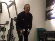 Barack Obama : Filmé en pleine séance de muscu !