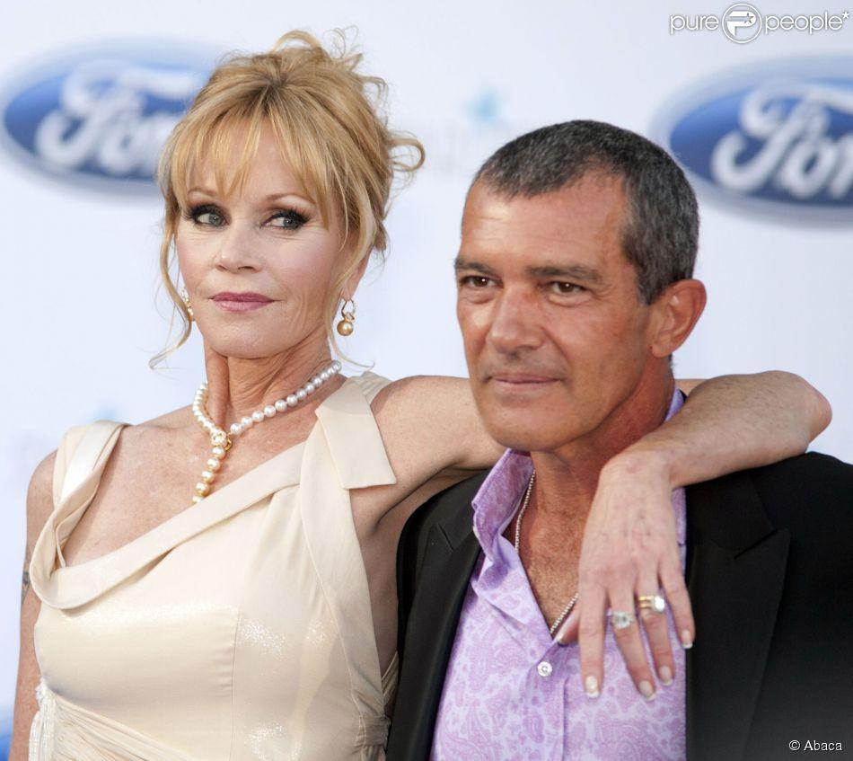 Melanie Griffith et Antonio Banderas semblaient très amoureux le 10 août 2013 au Starlite Festival à Marbella. Mais en juin 2014, l'actrice demande le divorce après 18 ans de mariage...