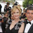 Antonio Banderas et Melanie Griffith à Cannes en 2011.