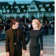 Antonio Banderas et Melanie Griffith à Deauville en 1998.