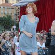 """Fauve Hautot - L'équipe de TF1 de """"Danse avec les Stars"""" donne un show lors du 54ème Festival de Télévision de Monte-Carlo, le 8 juin 2014."""