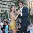 """Vincent Cerutti, Silvia Notargiacomo - L'équipe de TF1 de """"Danse avec les Stars"""" donne un show lors du 54ème Festival de Télévision de Monte-Carlo, le 8 juin 2014."""