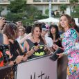 """Sandrine Quétier - L'équipe de TF1 de """"Danse avec les Stars"""" donne un show lors du 54e Festival de Télévision de Monte-Carlo, le 8 juin 2014."""