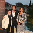 Sandrine Quétier, Chris Marques, Vincent Cerutti - Soirée au Monte-Carlo Bay lors du 54ème Festival de Télévision de Monte-Carlo, le 8 juin 2014.