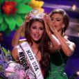 Nia Sanchez remporte le titre de Miss USA 2014 au Baton Rouge River Center. Baton Rouge, le 8 juin 2014.