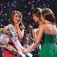Nia Sanchez, Miss Nevada, remporte le titre de Miss USA 2014 au Baton Rouge River Center. Baton Rouge, le 8 juin 2014.
