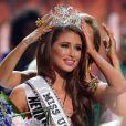 La ravissante Nia Sanchez remporte le titre de Miss USA 2014 au Baton Rouge River Center. Baton Rouge, le 8 juin 2014.