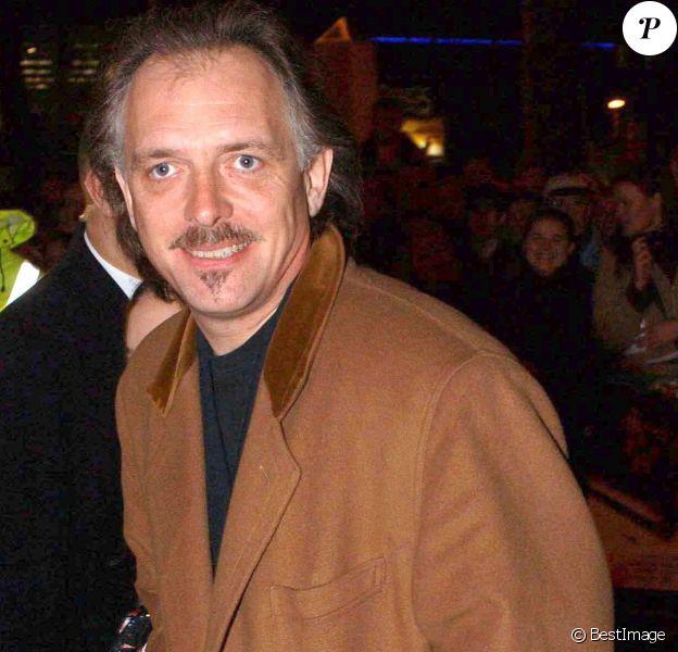 Rik Mayall à Londres en janvier 2002.