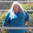 Debbie Rowe dans un centre équestre à Palmdale, le 12 mai 2013.