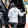 Kourtney Kardashian à Southampton, le 10 juin 2014.