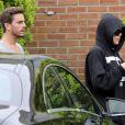 Scott et Disick et Khloé Kardashian quittent leur hôtel dans les Hamptons. Le 10 juin 2014.
