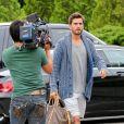 Scott Disick dans les Hamptons, le 9 juin 2014.
