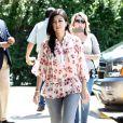 Kourtney Kardashian dans les Hamptons, le 2 juin 2014.
