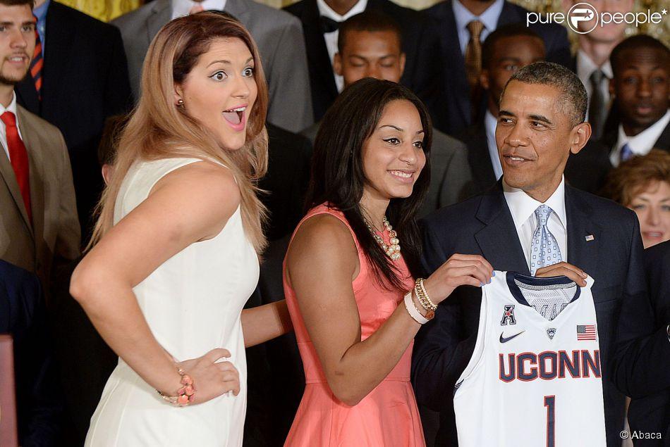 Barack obama recevait les quipes masculine et f minine de - Is maison masculine or feminine ...