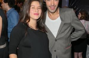 Mylène Jampanoï enceinte, complice avec Nicolas Bedos face à Axelle Laffont