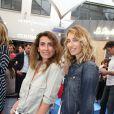 Mademoiselle Agnès et Alexandra Golovanoff - Opening party du BHV Marais section homme au BHV Marais à Paris, le 11 juin 2014.