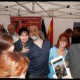 Rachida Dati pose avec l'acteur Javier Cámara - Soirée d'ouverture du 13e Festival Le 7e art dans le 7e dans lacourdu lycée Victor Duruy, rue de Babylone à Paris, le 10 juin2014.