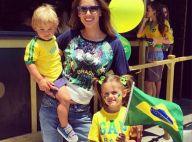 Alessandra Ambrosio : En famille pour supporter le Brésil à la Coupe du Monde