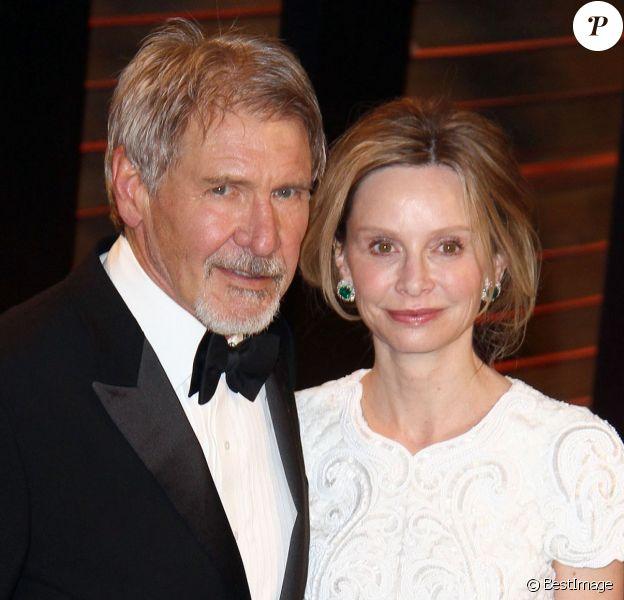 Calista Flockhart et Harrison Ford à la 86ème cérémonie des Oscars le 2 mars 2014