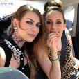Fanny Maurer et une amie. Instagram mai 2014.