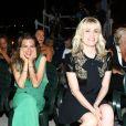 """Emmanuelle Seigner et sa fille Morgane Polanski au 11e Festival du film """"Ischia Global Film Music Fest"""" à Ischia en Italie le 14 juillet 2013."""