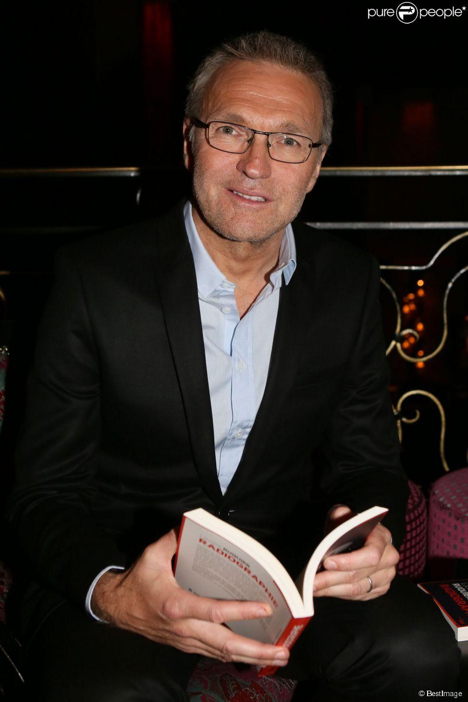 """Exclusif - Laurent Ruquier - Soirée de lancement du livre """"Radiographie"""" de Laurent Ruquier au Buddha-Bar à Paris, le 16 juin 2014."""