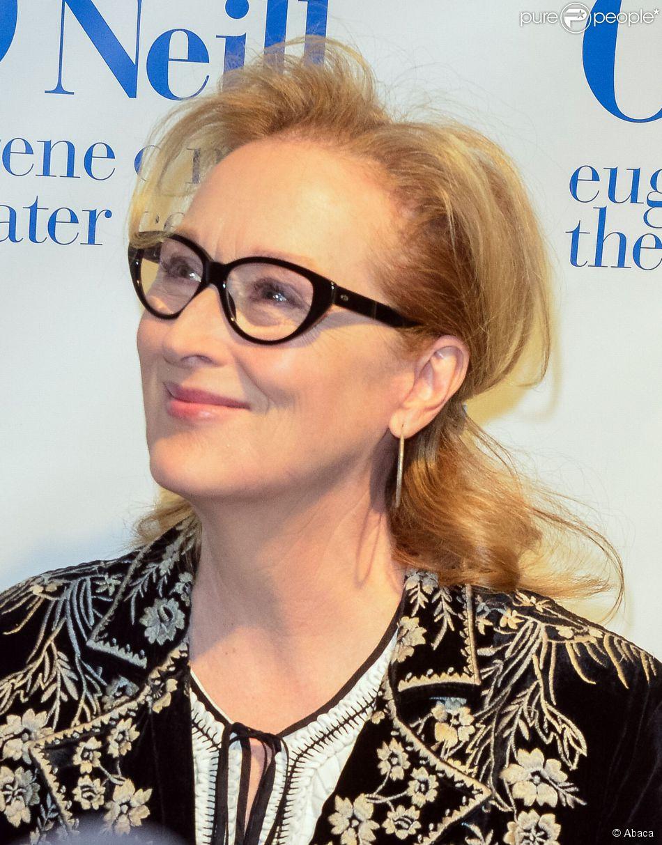 Meryl Streep à New York le 21 avril 2014.