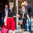 Ellen DeGeneres et Portia de Rossi font du shopping à New York, le 19 juin 2014.