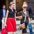 Ellen DeGeneres et sa femme Portia de Rossi font du shopping dans les rues de New York, le 19 juin 2014.