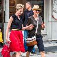 Ellen DeGeneres et sa femme, l'actrice Portia de Rossi font du shopping à New York, le 19 juin 2014.