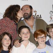 Valérie Lemercier et Kad Merad : Des bisous et des délires pour le petit Nicolas