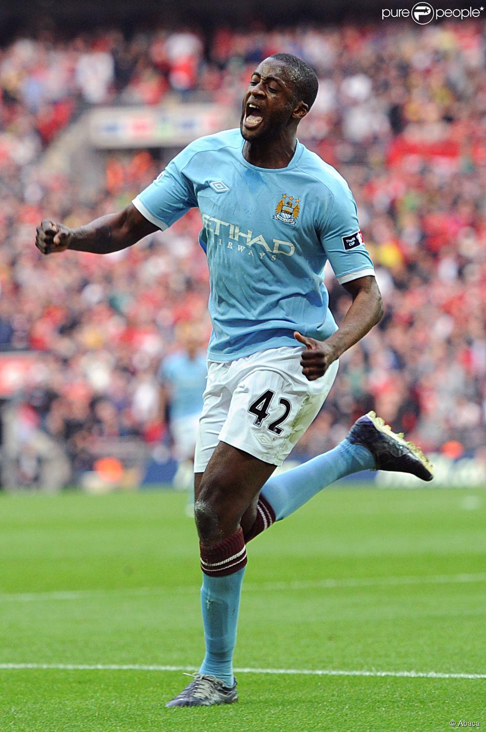 Yaya Touré à Wembley le 16 avril 2011.
