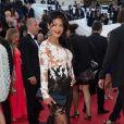 """Ayem Nour - Montée des marches du film """" How To Train Your Dragon 2"""" lors du 67e Festival du film de Cannes – Cannes le 16 mai 2014."""