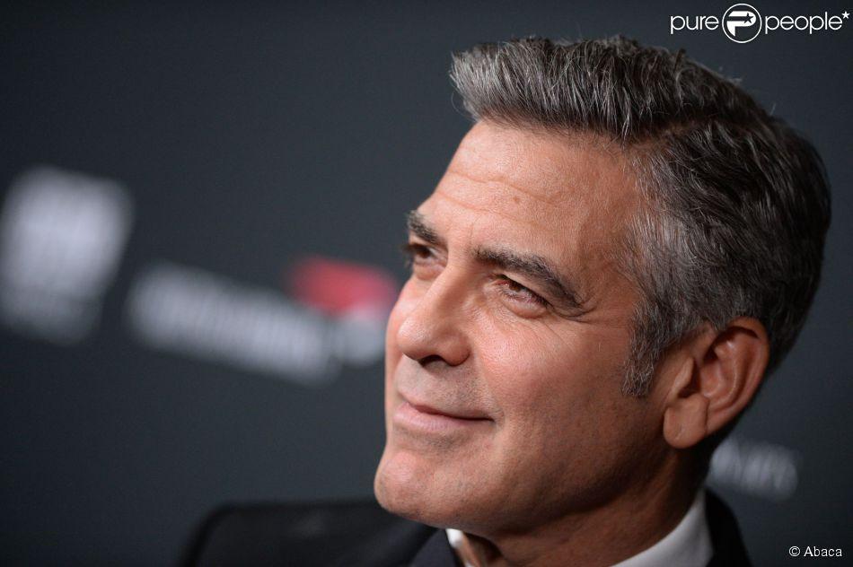 George Clooney à Los Angeles, le 9 novembre 2013.