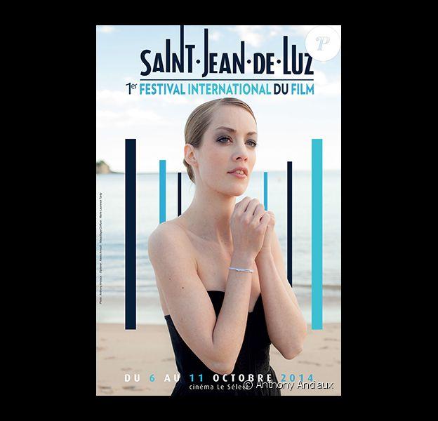 L'affiche 2014 du Festival international du film de Saint-Jean-de-Luz