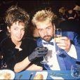 Anne Parillaud et Luc Besson lors du Festival de Cannes 1988