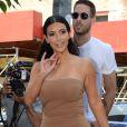 Kim Kardashian, Kourtney Kardashian, Kylie Jenner, Kendall Jenner et Kris Jenner font du shopping ensemble à New York, le 27 juin 2014