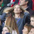 Sarah Brandner, compagne de Bastian Schweinsteiger, lors du match Allemagne-Algérie à Porto Alegre (Brésil) le 30 juin 2014.