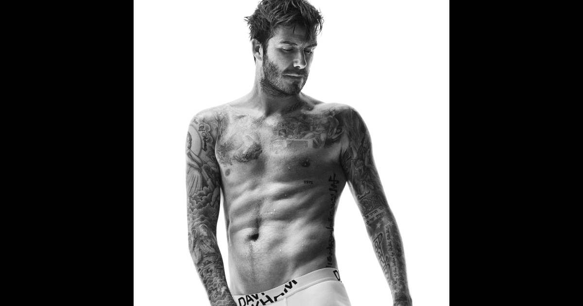 David Beckham Torse Nu Pour Une Rentrée Sexy Purepeople