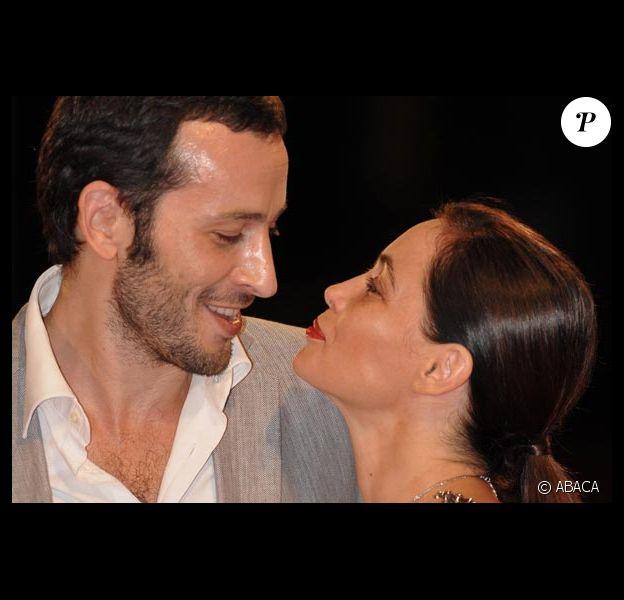 Emmanuelle Béart et son mari Michaël Cohen un show amoureux à Venise