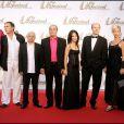 Les acteurs de Plus belle la vie - Laurent Kerusoré, Alexandre Fabre, Fabienne Carat, Rebecca Hampton. En 2006 à Monaco.