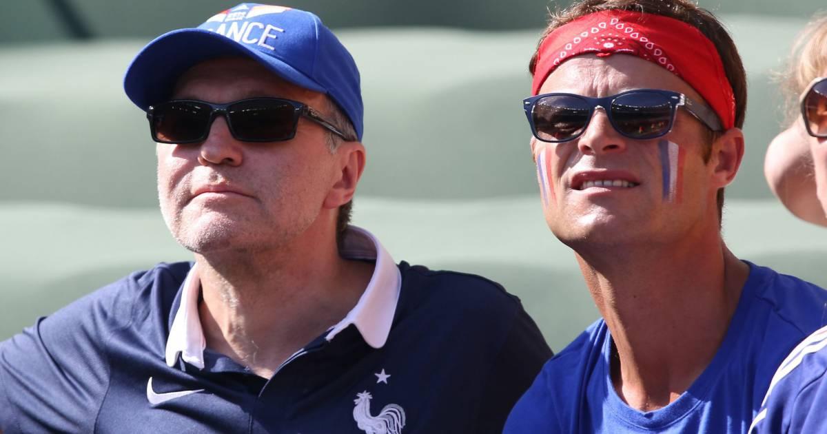 Mondial 2014 laurent ruquier et son ami au br sil d us face aux casiraghi purepeople - Damien thevenot et son compagnon ...