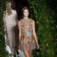 Défilé Valentino haute couture automne-hiver 2014-2015 à l'hôtel Salomon de Rothschild. Paris, le 9 juillet 2014.