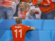 Brésil 2014 - Arjen Robben : Son fils en pleurs et inconsolable après la défaite