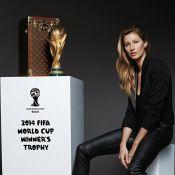 Gisele Bündchen : Garde rapprochée de la Coupe du monde pour la finale