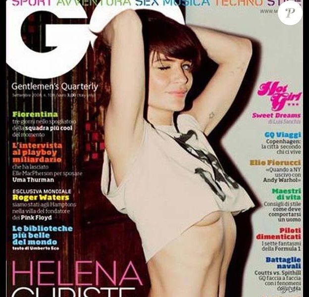 Helena Christensen pour GQ