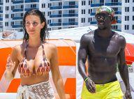 Bacary Sagna et sa jolie Ludivine : Sourires et jet-ski, leur belle vie à Miami